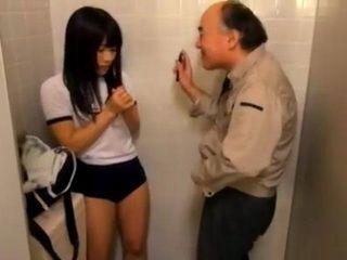 Japanese Schoolgirl SoonRegrets Entering This Toilet