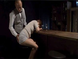 Bartender Took Japanese Girl Aihara Miho Home Where Shared Her With His Friends