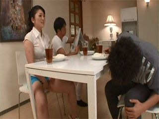 Husband Made A Mistake When Leaving His Busty Wife Kanako Matsushita Alone With His Friend