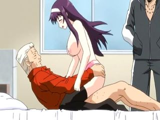 Japanese Hentai Sucking And Riding Her Bosses Big Cock