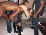 Cuckold Interracial Gangbang - Lisasparrow