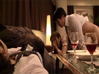 While Husband Was Sleeping  His Business Partner Fucked His Wife Konno Hikaru At His Apartment
