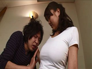Busty Stepmom Takaoka Violet Hardly Waited For Her Hubby To Go Away So She Could Take Good Care Of His Son