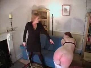 Lesbian spanking and Caning xLx