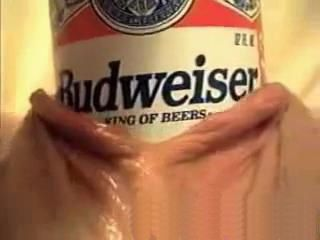 Horny Mature Making A Budweiser Commercial Her Way