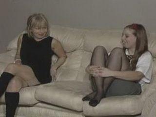 Lesbian Aunt and Niece xLx