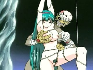 Tied Up Hentai Hard Fucked By Monster