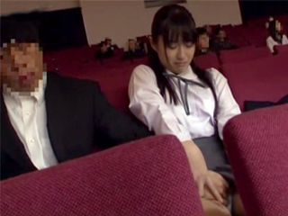 Naive Japanese Schoolgirl Gets Abused At Piano Concert