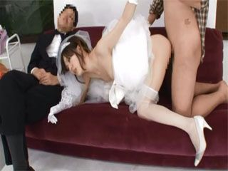 Busty Bride To Be Fucked By Photographer While Her Fiance Was Taking A nap On A Bridal Photo Session