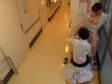 Japanese Doctor Caught Fucking His Busty Patient In A Clinic Hallway