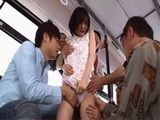 Japanese Girl Airi Suzumura Gets Attacked And Roughly Fucked By Bunch Of Passengers In Public Bus