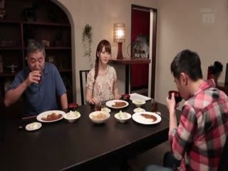 Yui Nishikawa Hardly Waited For Her Hubby To Go To Sleep So She Could Satisfy Her Stepson