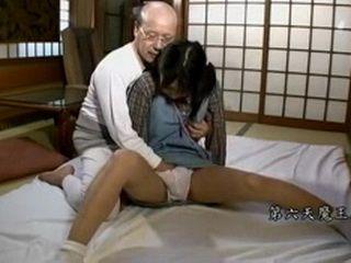 Japanese Grandpa Teaching Sex Young Girl 2-2 xLx