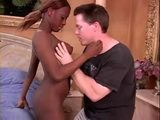 Black African Babe Gets Fucked By American Guy