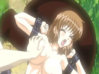 Captive hentai with bigboobs fingering and fucking wetpussy