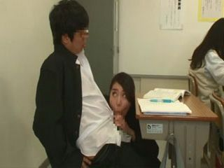 Bad Student Gets Fucked By Teacher During Exam at Classroom