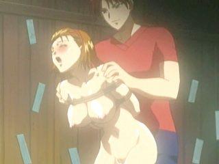 Bondage Japanese hentai Wet Pussy Fucked from Behind