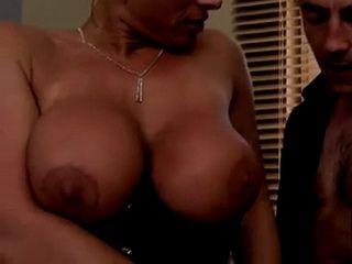 Busty Italian Milf Gets Anal Fucked at her Office