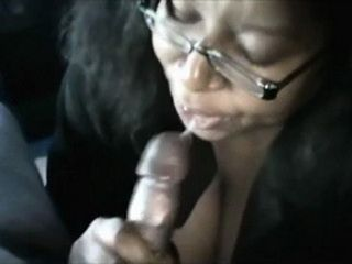 Amateur Black BBW Lady Dont Like Mouthful Of Cum and Spits Cumshot Disgusted