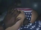 Homemade Interracial Fuck In USA Panties