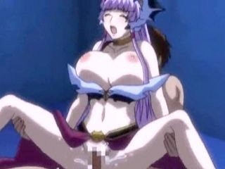 Bigboobs hentai Princess hot riding cock