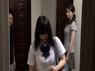 Daughter Made Big Mistake By Leaving Her Mother Kurosaki Masumi Alone With Her Boyfriend
