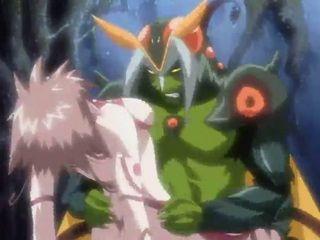 Anime Monster Fucks Hero Hardcore