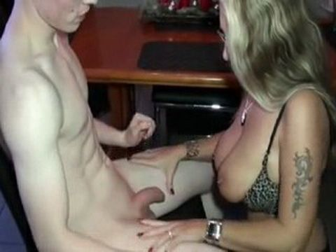 Shy 18yo Teenager Gets First Sex Lesson From Busty German Milf vXd