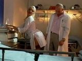 Blonde Nurse In Nylons Teasing Doctor To Fuck Her Anal
