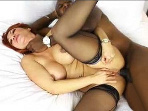 Hot Busty MILF Anal Destroyed With Mandingo