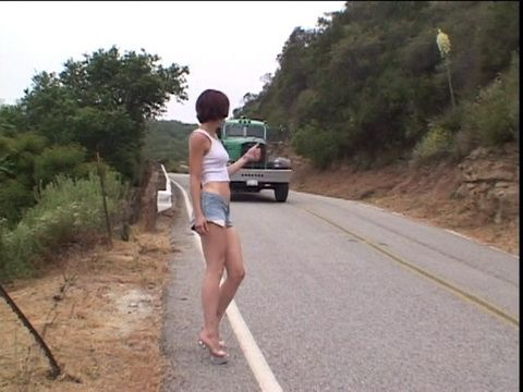 Teen Hitchhiker Fucks A Stranger For A Ride Home