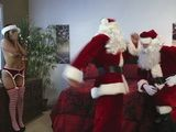 Slutty Sant's Wife Caught Cheating her Hubby With Another Santa