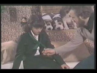Vintage Schoolgirl threesome xLx