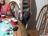 Strip Poker Game At College Dorm Gone Too Far