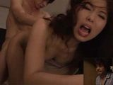 Husband Caught His Cheating Wife Honma Meinan In The Middle Of Fucking With His Brother