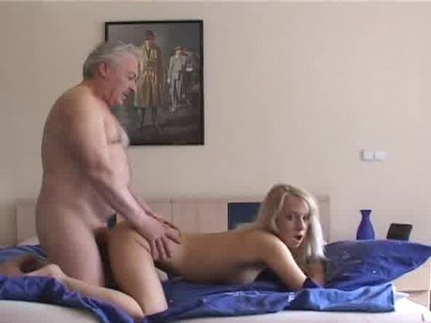 Ugly Grandpa Gets A Taste Of Fresh Wet Pussy