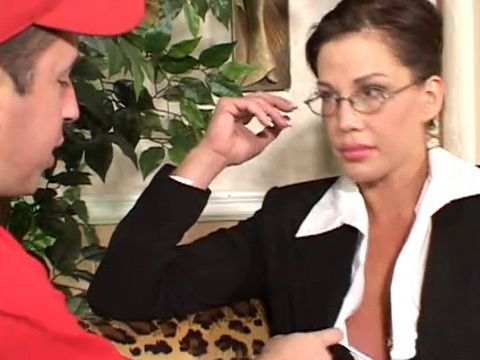 Horny Student Was Not Able to Concentrate on Studying Next To Busty MILF Teacher