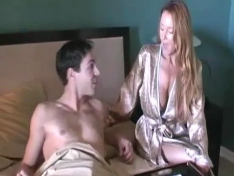 Busty MILF Stepmom Is Little Horny This Morning