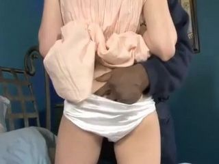 Pigtailed Teen Should Never Allow To Black Muscular Guy To Put Arm Under Her Paties But Now Her Soft Pussy Must Suffer