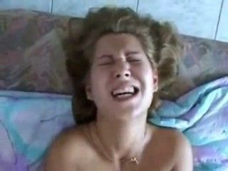 Girl Screaming In Agony Of Pain While Being Anal Fucked For The First Time