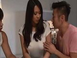 Private MILF Teacher Sudo Saki Having Difficulties With Two Boys Who Didnt Interested About Studying Uncensored