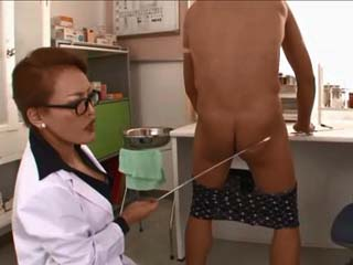 Sinful Milf Doctor Experimenting With New Examine and Healing Methods On Her Patient
