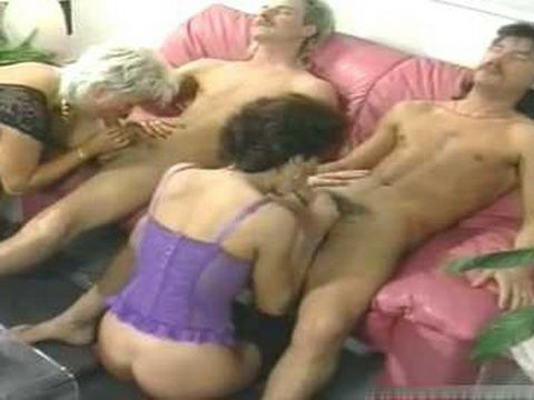 Two Hot German Milf Have Anal With Two Dick