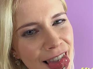 Blonde Tanna In Kinky Solo Pissing