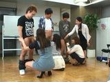 Shimizu Lisa Ayumi Mao Yuki Natsume Kirishima Ayako At Blowjob Class
