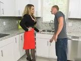 Milf Housewife Hard Fucked In Kitchen By Plumber