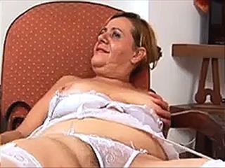 Latin Grandma Banged By BBC
