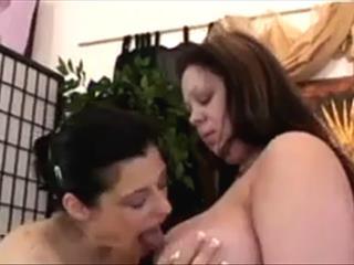 Curvy Lesbian Getting Loved
