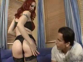 Busty MILF In Sexy Stockings Fucks