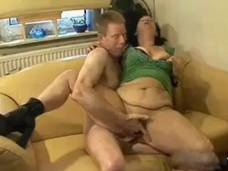 Granny Gets Fucked In The Butt